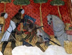 Combat chevalier