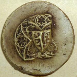 Sceau d'Ythier de Bréon (1300)