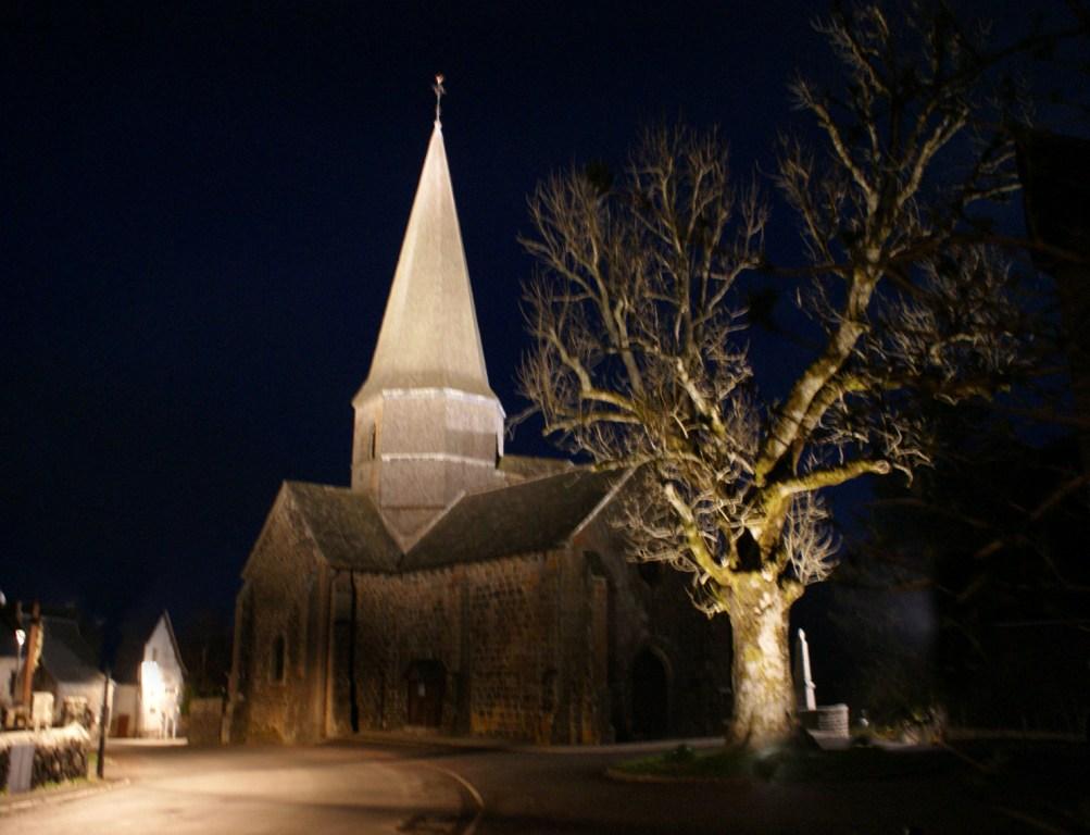 Eglise Saint-Georges - vue nocturne