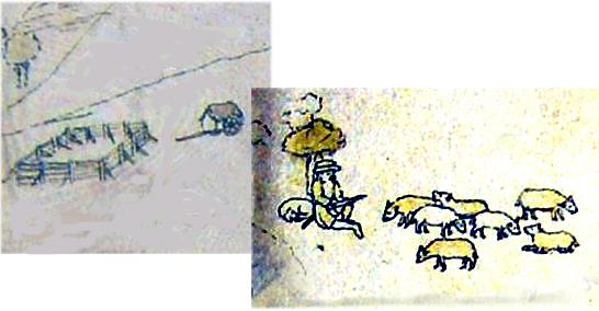 Moutons et parc Armorial de Revel