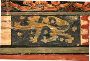 Armes des Bréon Plafond du doyenné de Brioude
