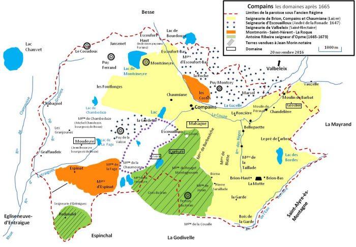 Domaine après-1665